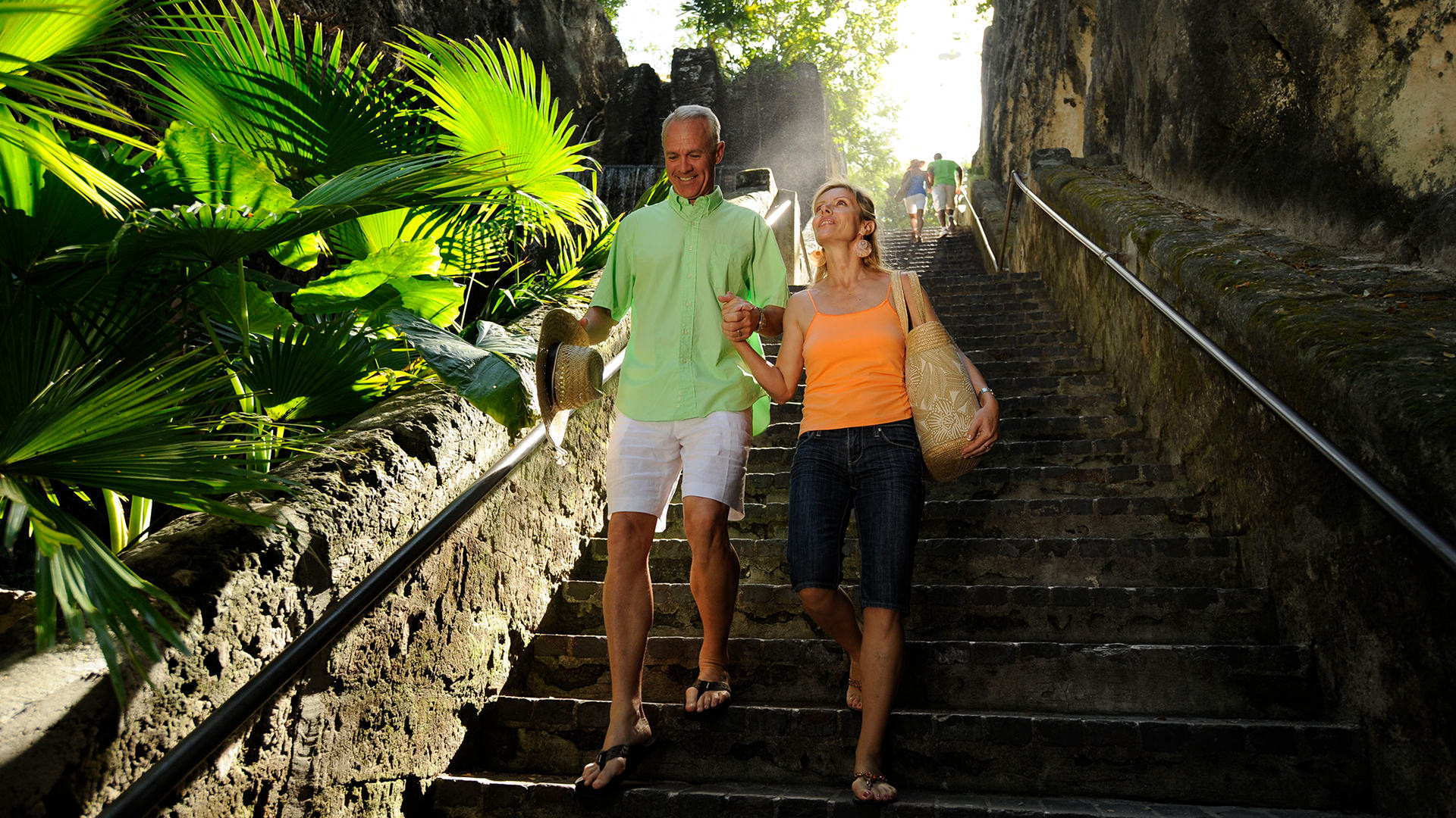 The Queen S Staircase Nassau Paradise Island