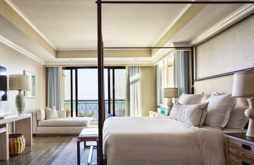 A suite at Rosewood Baha Mar in Nassau Paradise Island