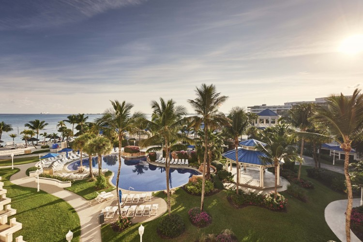 Melia Nassau Beach-All Inclusive three swimming pools in Nassau Paradise Island