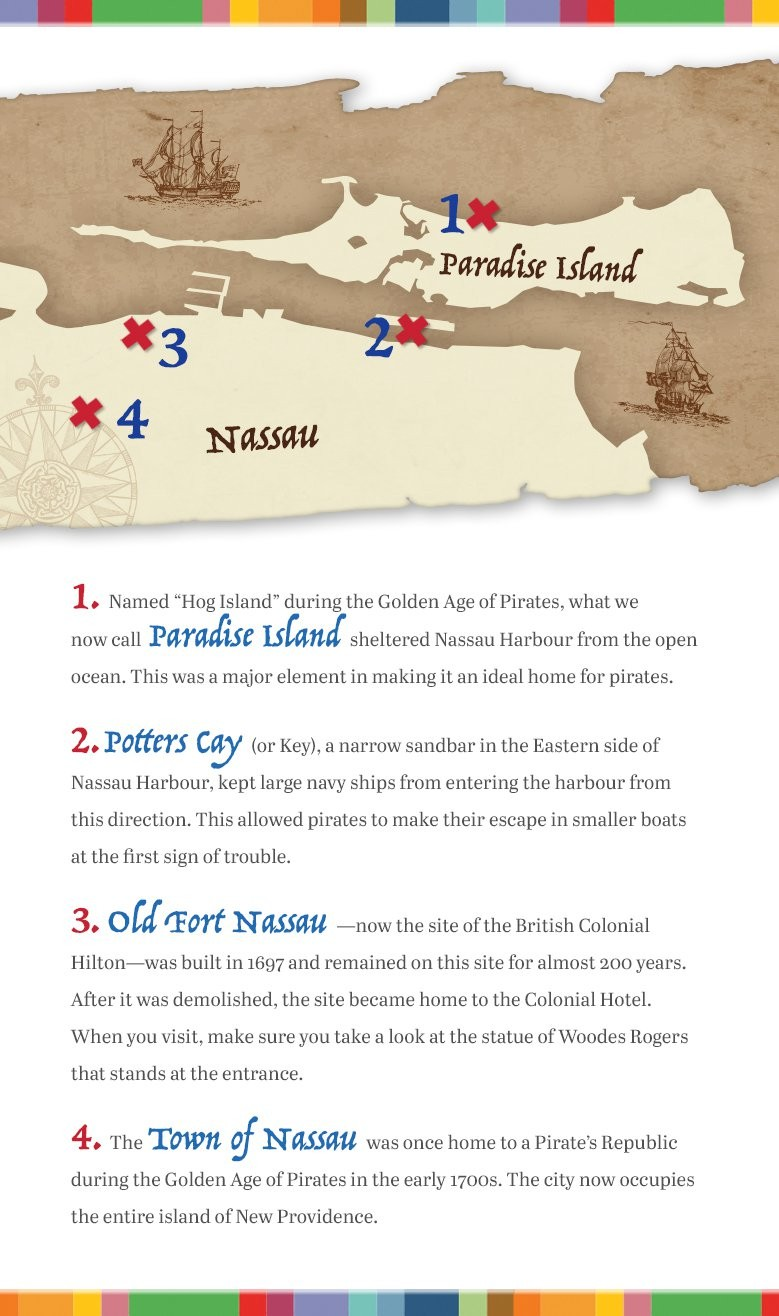 A History Of Nassaus Pirates Pirate Republic Tall Ship Diagram Nautical Ships Pinterest Map Graphic