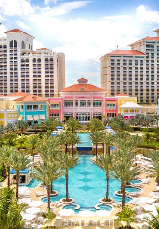 The Grand Hyatt Baha Mar resort in Nassau Paradise Island