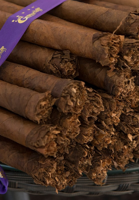 Pile of cigars